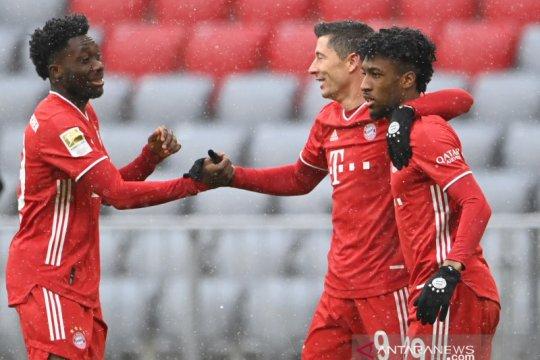 Bayern kembali ke jalur kemenangan usai bekuk Freiburg 2-1