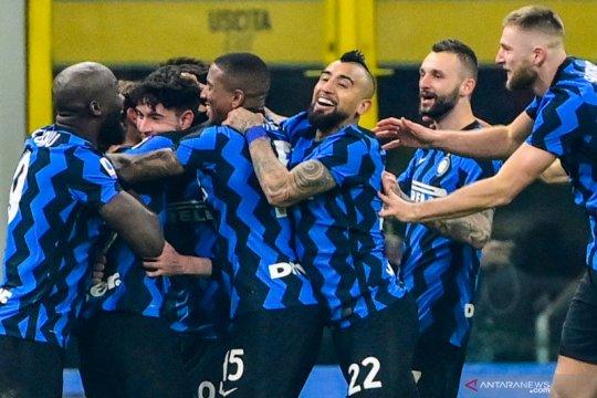 Pukul Juventus 2-0, Inter menangi Derby d'Italia