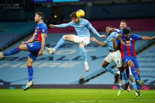 John Stones cetak dua gol saat Man City cukur Palace 4-0
