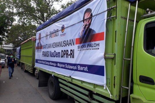 NasDem Sulteng kirim lagi logistik dan tenaga medis ke Sulbar