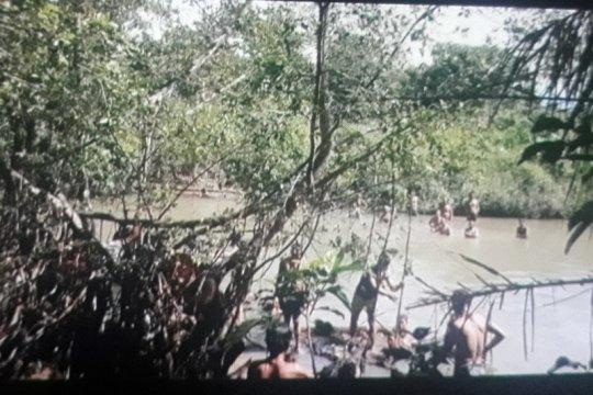 Pencarian korban diterkam buaya di Pasaman Barat terkendala air keruh