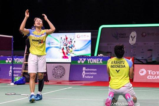 Greysia/Apriyani menangi laga pertama Thailand Open II