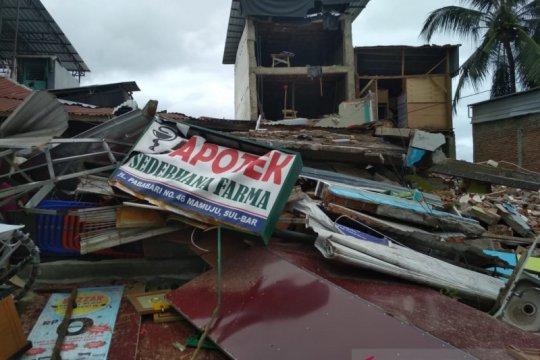 Dinas Kesehatan: Tujuh puskesmas terdampak gempa Sulbar