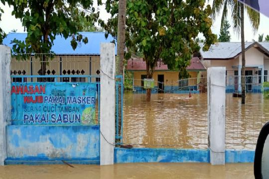 Aktivitas pendidikan di Aceh terhenti akibat banjir
