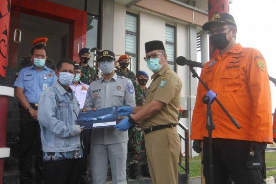Dua jenazah korban kecelakaan Sriwijaya Air tiba di Pontianak