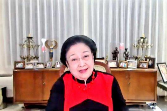 Peringati HUT PDIP, Megawati ajak kader bersihkan sungai