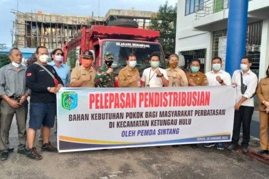 Pemkab Sintang distribusi 2.200 tabung elpiji ke perbatasan