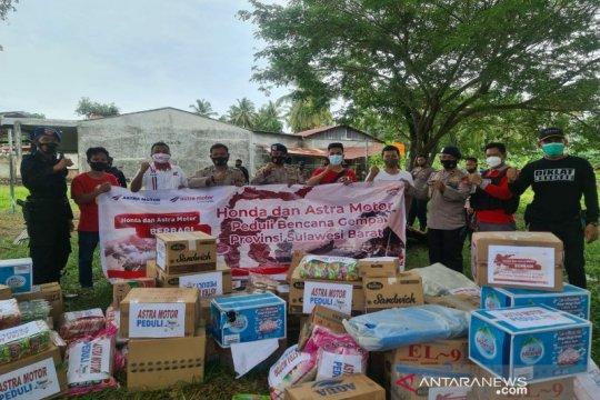Astra Motor Sulsel bantu korban banjir Sulawesi Barat