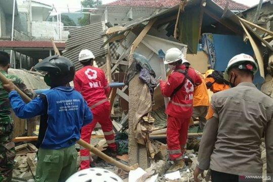 BPBD Cianjur selesaikan penanganan gedung ponpes roboh