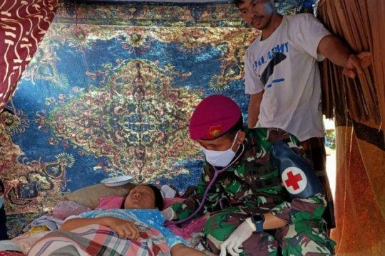 Batalion Kesehatan TNI bantu pengobatan korban gempa di Sulbar