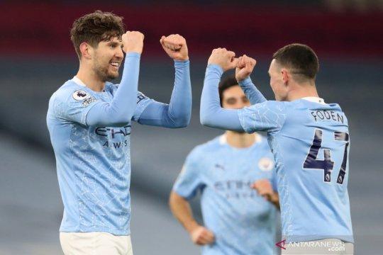 Liga Inggris: Manchester City kalahkan Crystal Palace 4-0