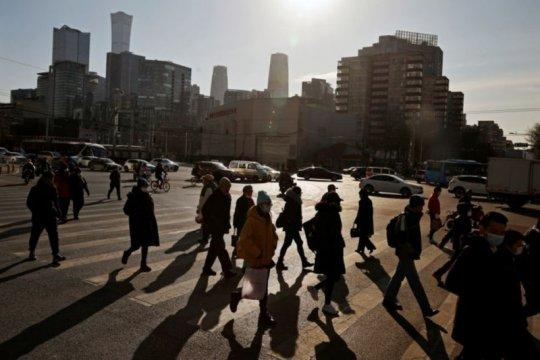 Kalahkan ekspektasi, PDB kuartal keempat China tumbuh 6,5 persen