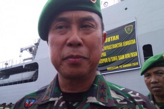 Pasukan tambahan Kodam Hasanuddin mulai beroperasi di Mamuju