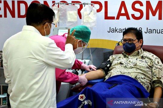 Wapres dorong penyintas COVID-19 donorkan plasma darah