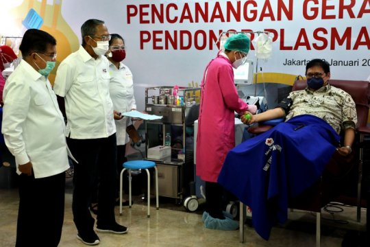 PMI perlu lebih banyak pendonor plasma darah konvalesen
