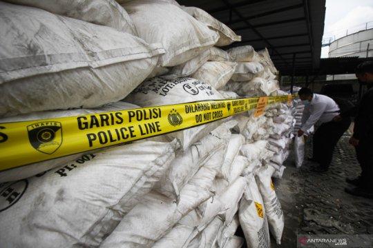 Pengembangan kasus bahan peledak ikan 25 ton