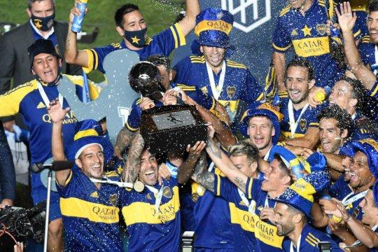 Boca juarai Maradona Cup setelah menang adu penalti atas Banfield