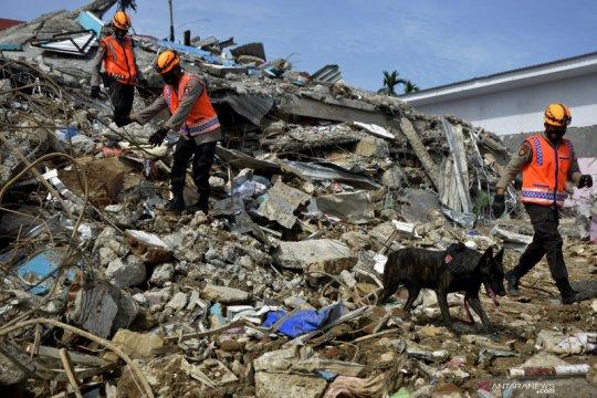 Basarnas: 90 orang meninggal dunia gempa Sulawesi Barat