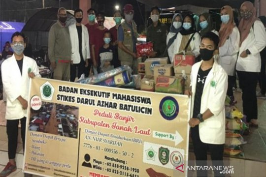 Stikes Tanah Bumbu kerahkan relawan bantu korban banjir