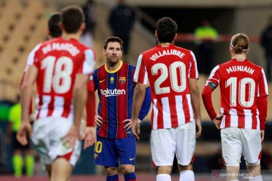 Lionel Messi hanya dihukum dua laga setelah pukul Villalibre