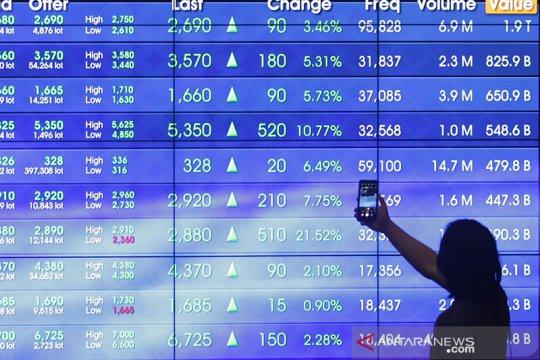 IHSG awal pekan menguat seiring kenaikan bursa saham Asia