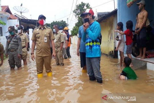Terus diguyur hujan, 80 rumah di Batang-Jateng terendam banjir