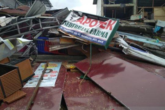 BNI Makassar serahkan bantuan untuk korban gempa Sulbar