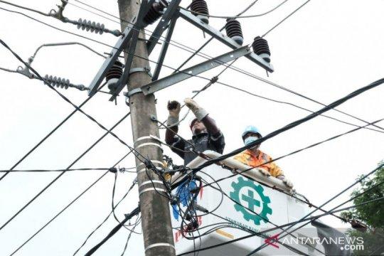 93 persen gardu listrik terdampak gempa di Sulbar kembali menyala