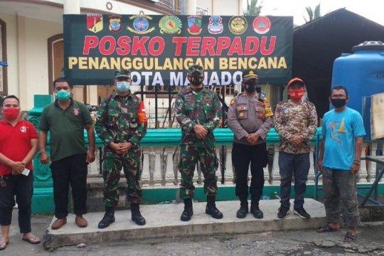 Bantu korban banjir Manado, Kodam Xlll/Merdeka buka dapur umum