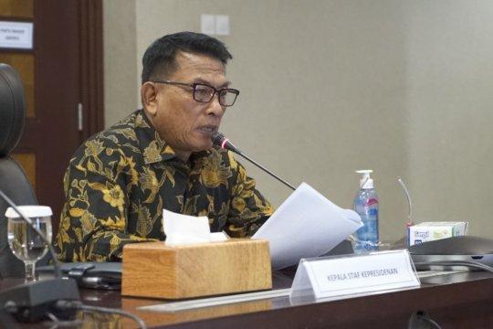 KSP: Penularan COVID-19 di kalangan kabinet mudah dikontrol