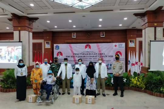 PMI Jakbar himpun 5,8 miliar pada penutupan Bulan Dana 2020