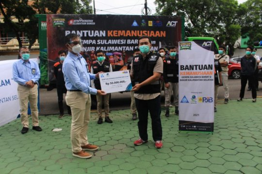 ACT-PJB bantu korban bencana Sulbar
