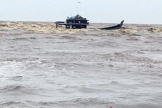 Kapal muatan sawit tenggelam di perairan Tanjung Jabung Timur