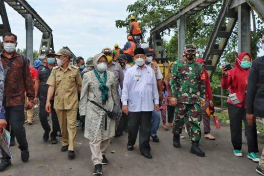 Mensos cek kondisi korban banjir di Halmahera Utara