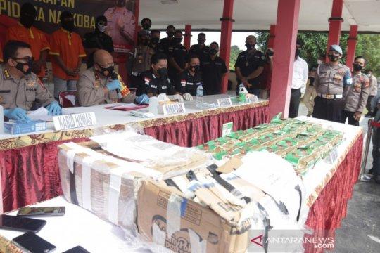 Polda Kepulauan Riau ungkap kasus 46 kg sabu-sabu