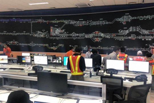 Pusat Kendali Operasi Kereta Manggarai Jakarta resmi beroperasi
