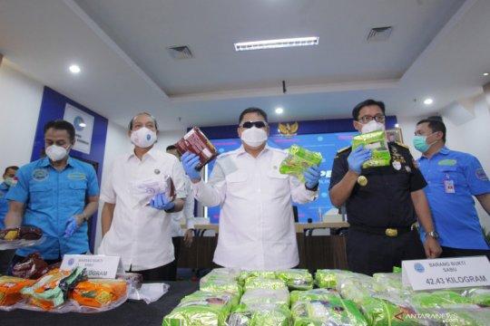 BNN ungkap narkotika jaringan internasional