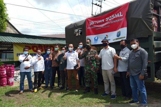 Bantuan dari asosiasi untuk bencana banjir di Bengkayang mengalir