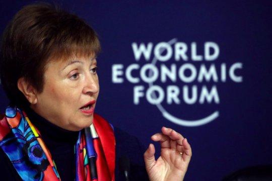 """Ketua IMF lihat """"ketidakpastian tingkat tinggi"""" dalam prospek global"""