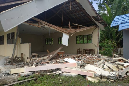 Lebih 100 satuan pendidikan rusak dampak gempa Sulbar