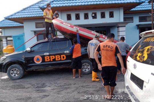 Banjir kiriman Malaysia di Sembakung-Kaltara disampaikan ke pemerintah