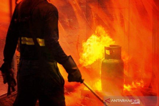 Ledakan tabung gas mengakibatkan satu orang meninggal di Medan