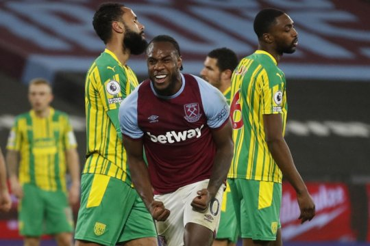 Antonio antar West Ham menang 2-1 atas West Brom