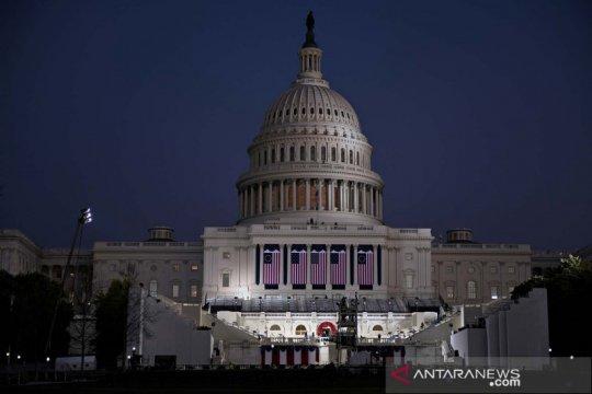 Saat pelantikan, Biden pimpin peringatan kematian 400 ribu warga AS