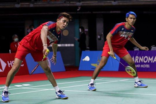 Kalah di babak pertama Thailand Open II, Fajar/Rian akui tertekan