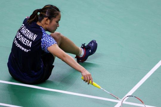 Ruselli tersingkir di babak pertama Thailand Open II