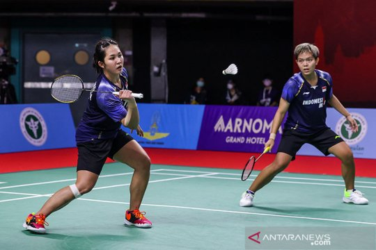 Fadia/Ribka takluk di tangan unggulan ketujuh Thailand Open II