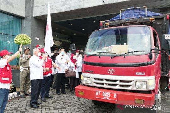 PMI Kaltim kirim tim dan bantu logistik untuk korban banjir Kalsel