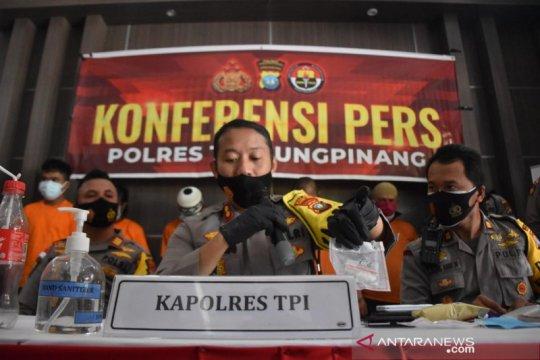 Polres Tanjungpinang tangkap tiga residivis kasus narkoba