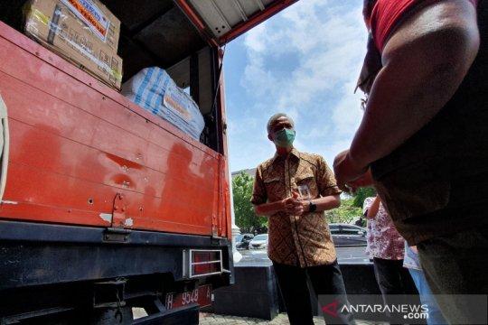 Ganjar berangkatkan sukarelawan dan logistik bantu pascagempa Sulbar